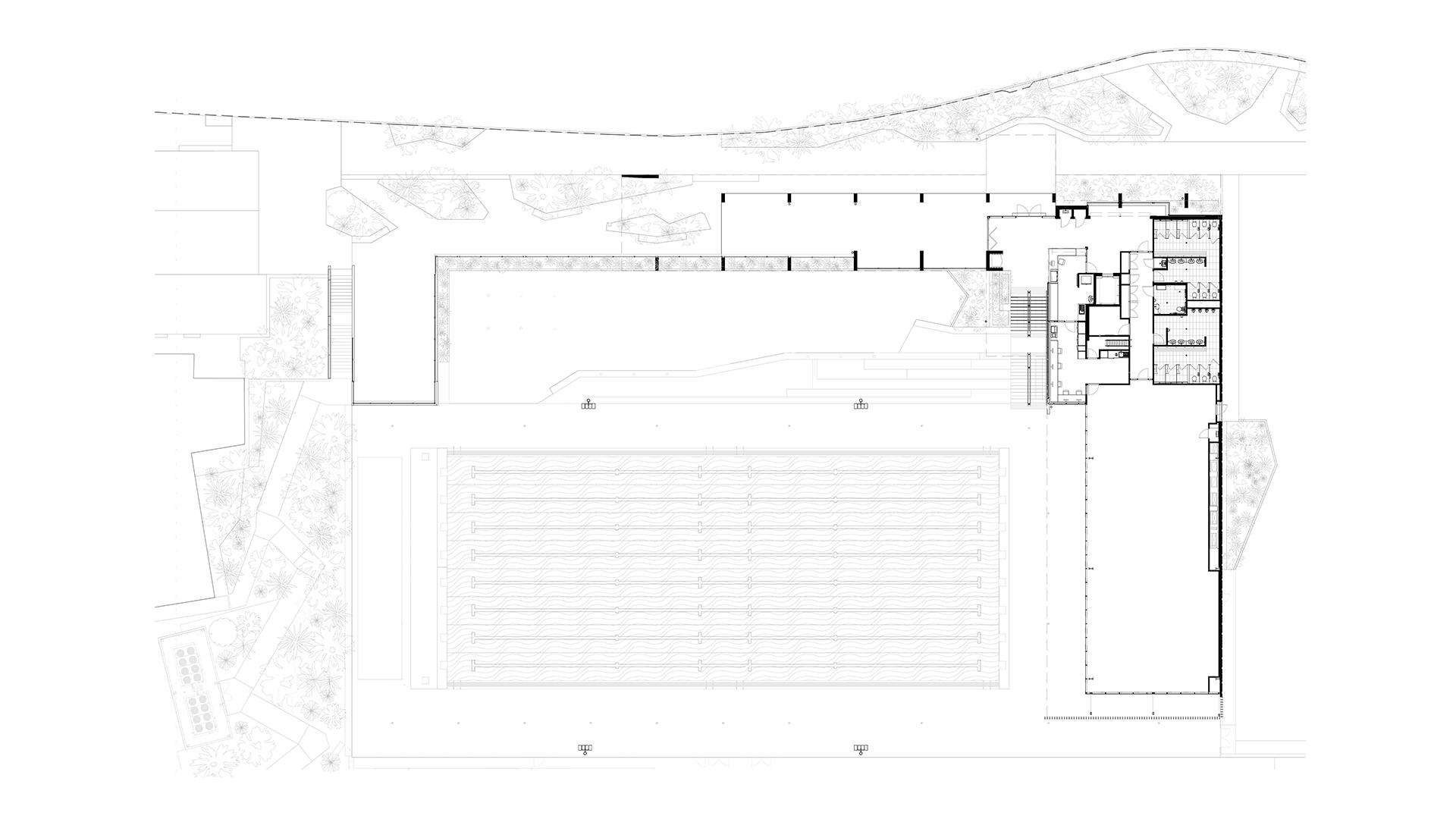 Griffith University Aquatic Centre Plan