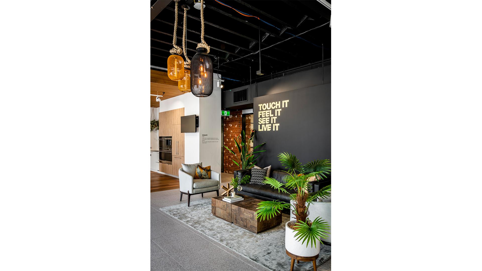 Porter Davis Showroom furniture