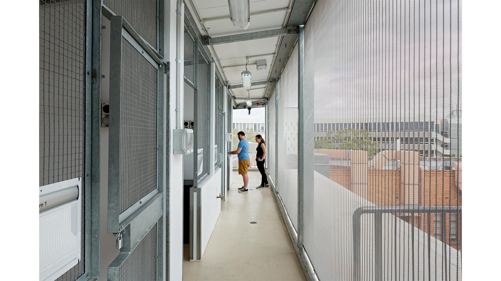 Heritage extension UQ Goddard building