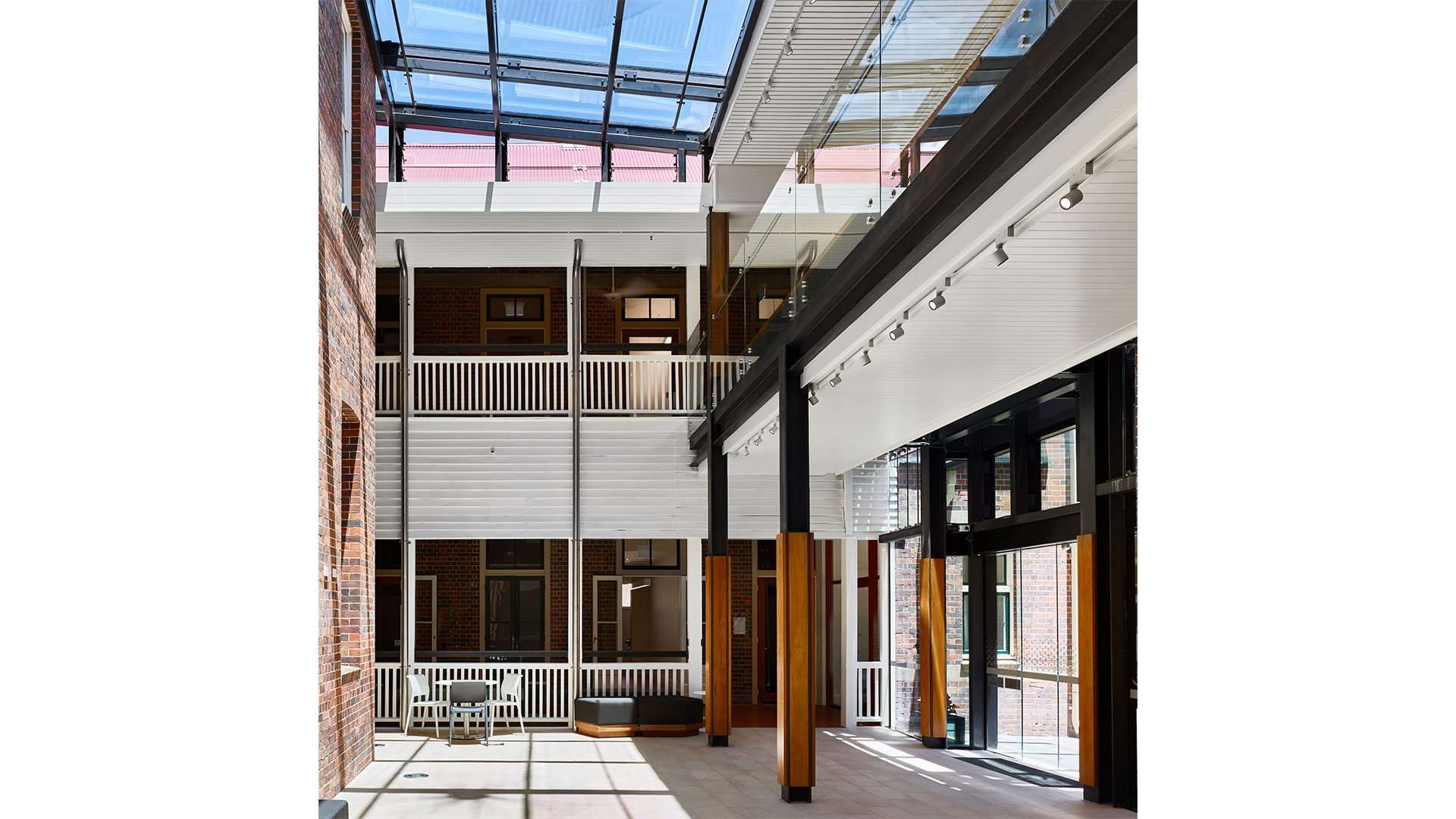 Whitty Clinical School atrium