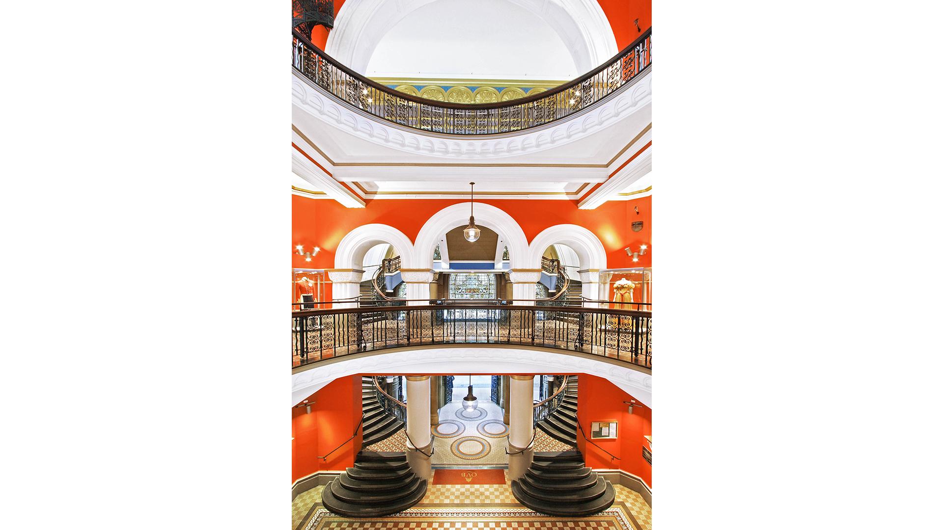 Queen Victoria Building Redevelopment balcony
