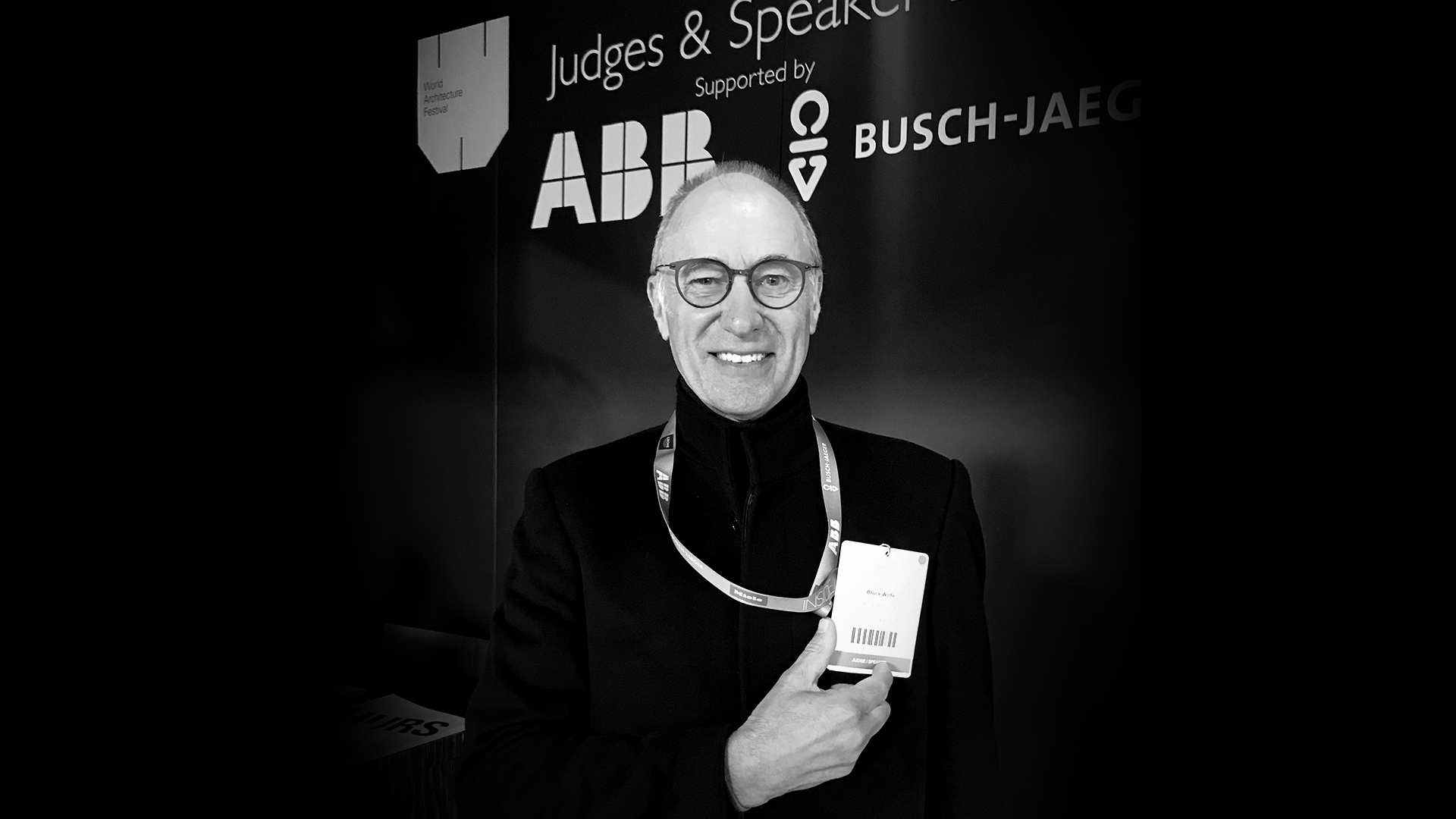Bruce Wolfe of Conrad Gargett at the WAF Awards