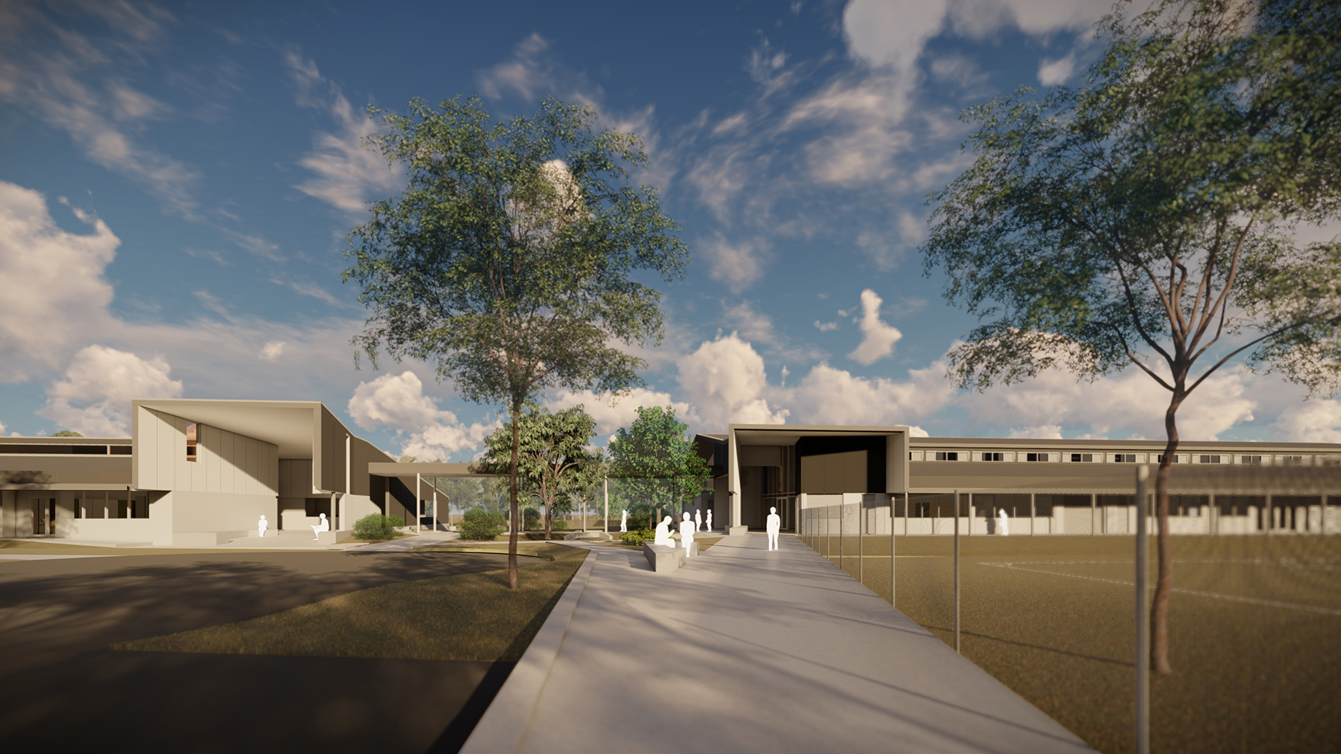 Render of Aspley State High School