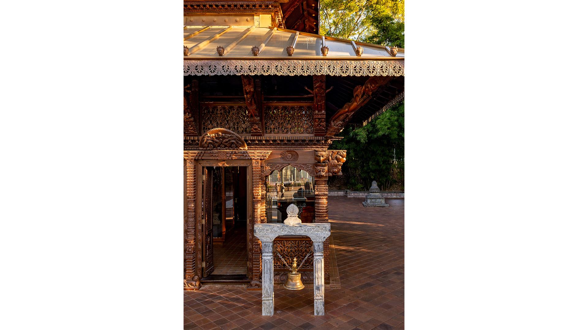 Nepalese Pagoda Detail