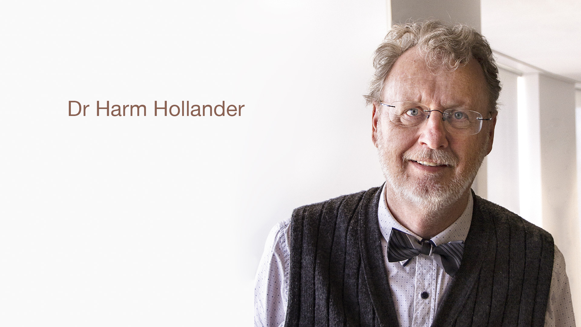 Dr Harm Hollander