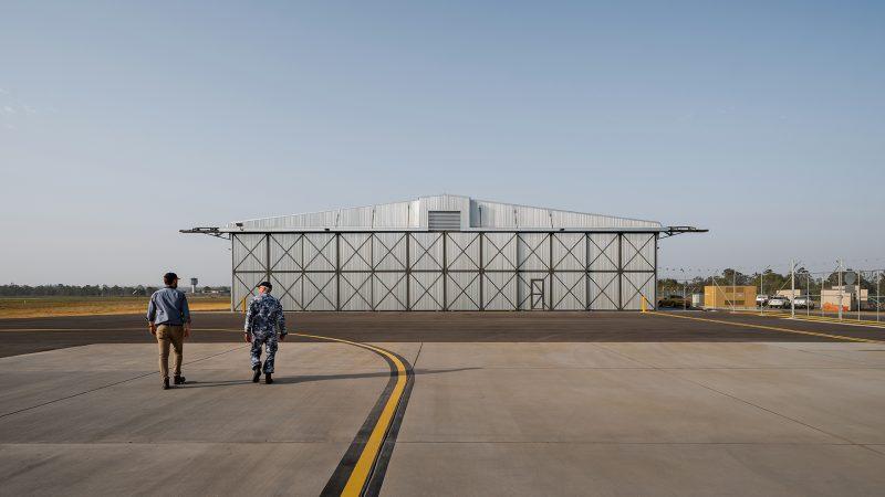 Bellman Hangar Heritage Upgrade