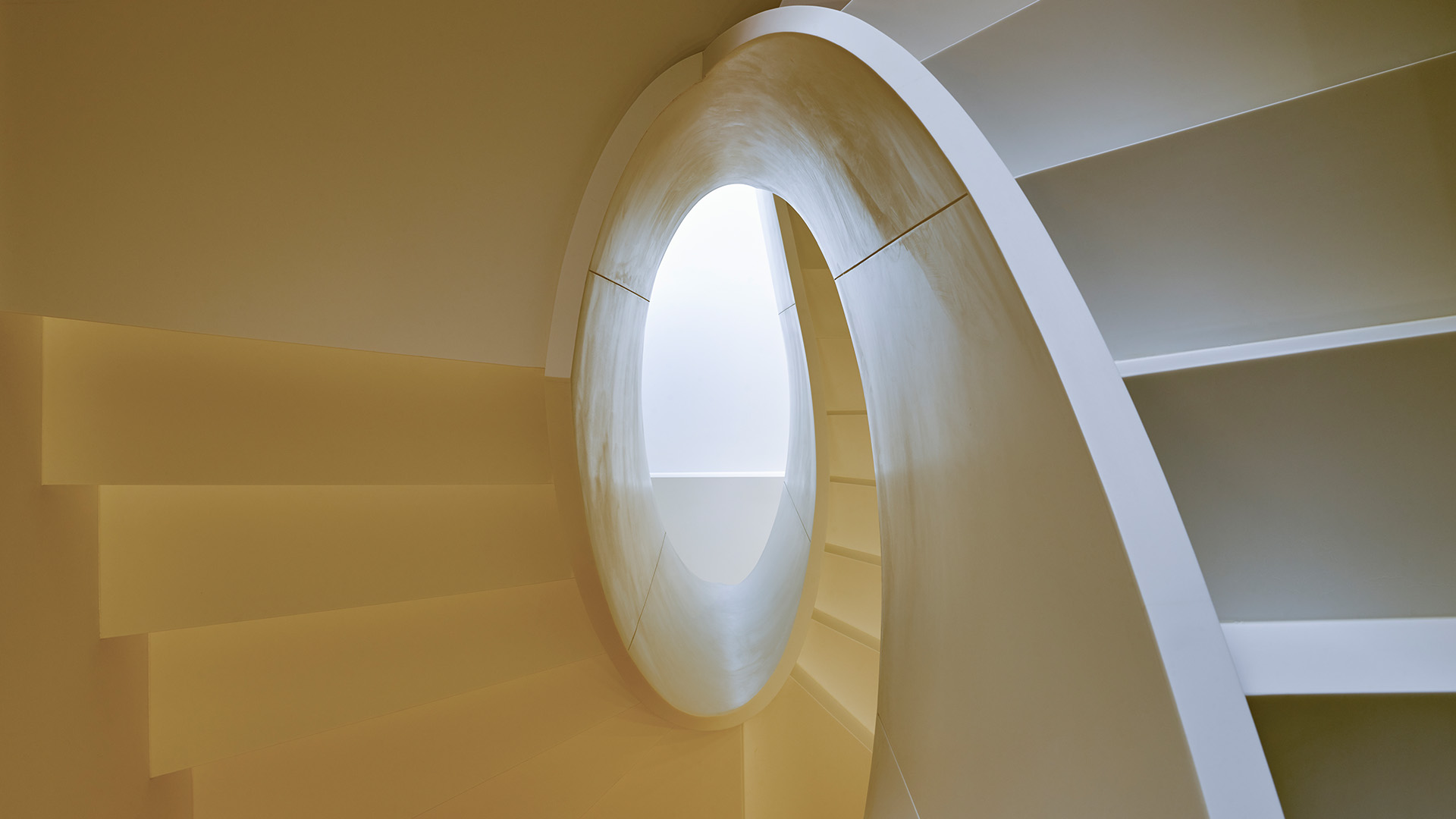 Maritimo central staircase