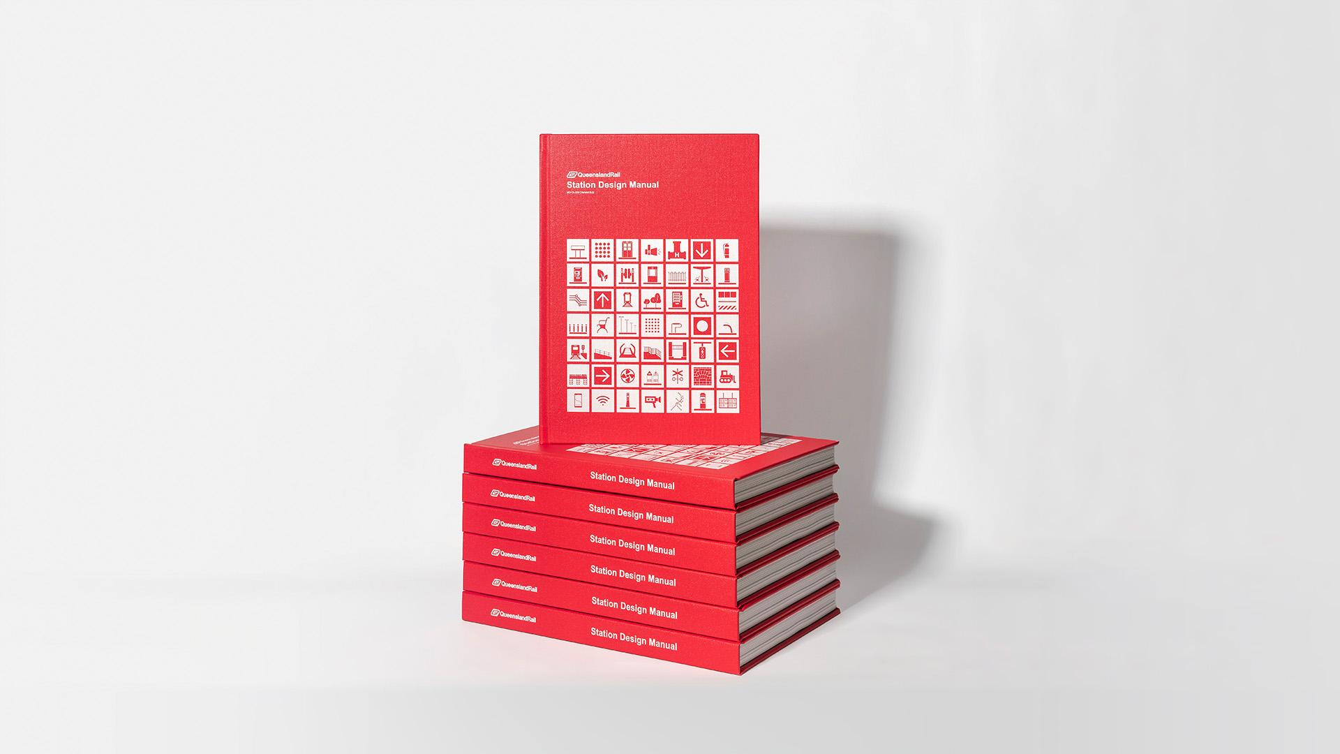 Queensland Rail Station Design Manual printed books