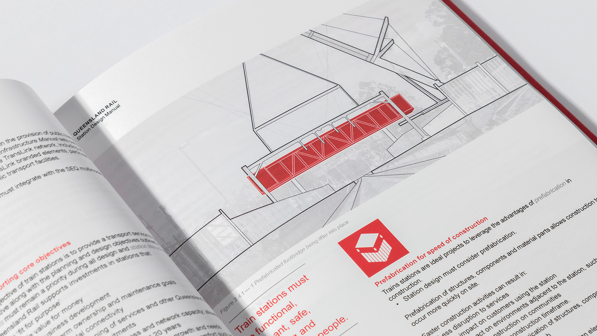 Queensland Rail Station Design Manual illustration